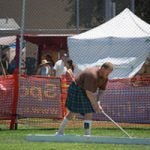 The Highland Games Get Underway