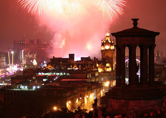 Edinburgh Hogmanay Party