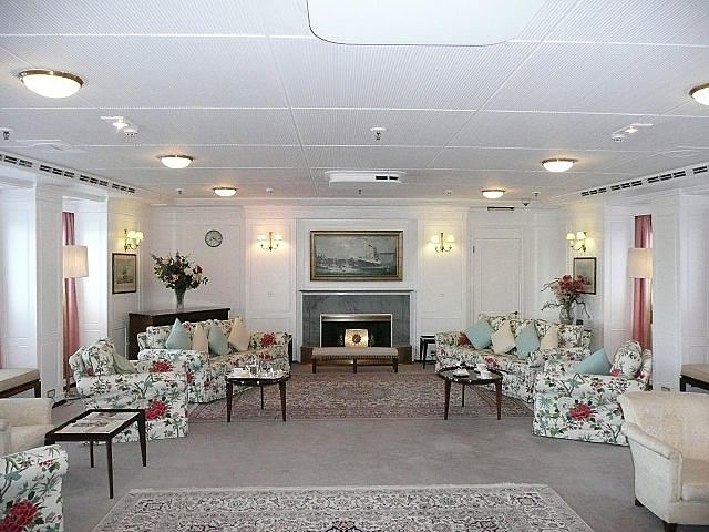 Royal Yacht Britannia Leisure Room