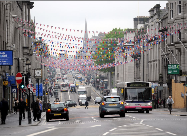 Union Stree Aberdeen