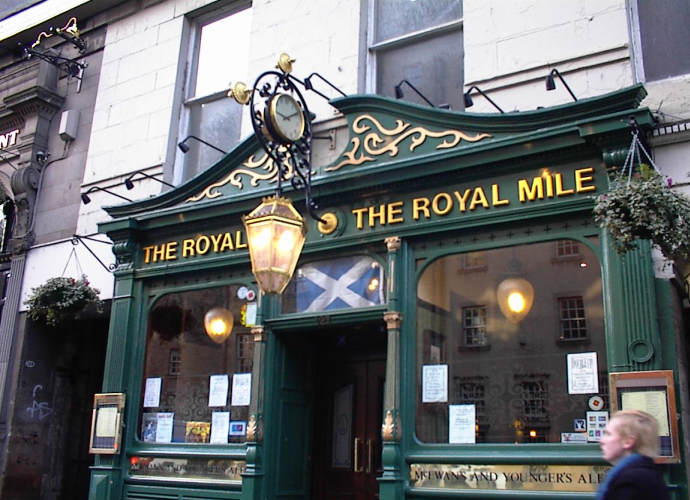 Pub on Royal Mile