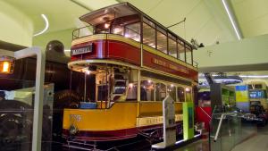Old Glasgow Tram