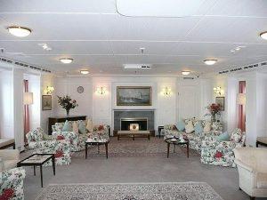 Royal Yacht Britannia Leisure Room
