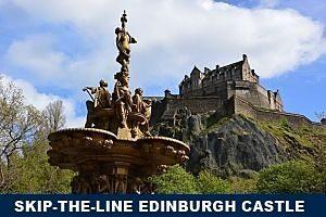 Skip the line Edinburgh Castel